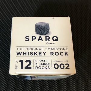 Spare Home Whiskey Rocks Soapstone Ice Cubes